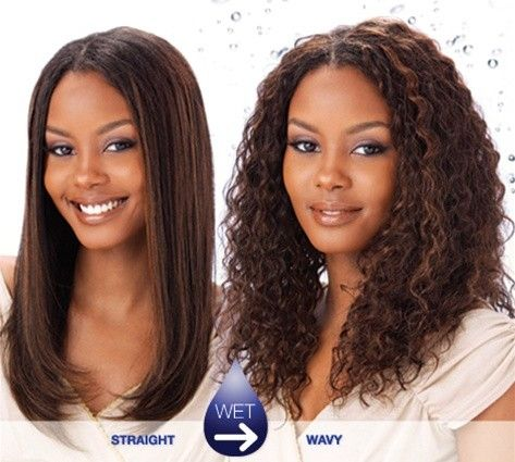 Wet And Wavy Weave Hairstyles Long Wet And Wavy Weave