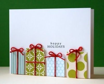More Ideas of Handmade Christmas Cards : Lets Celebrate!