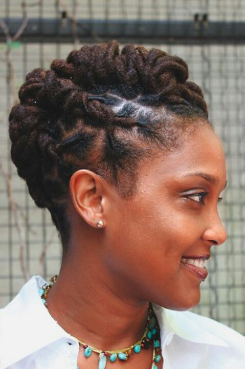 58 best images about Locs on Pinterest Dreads Updo  and