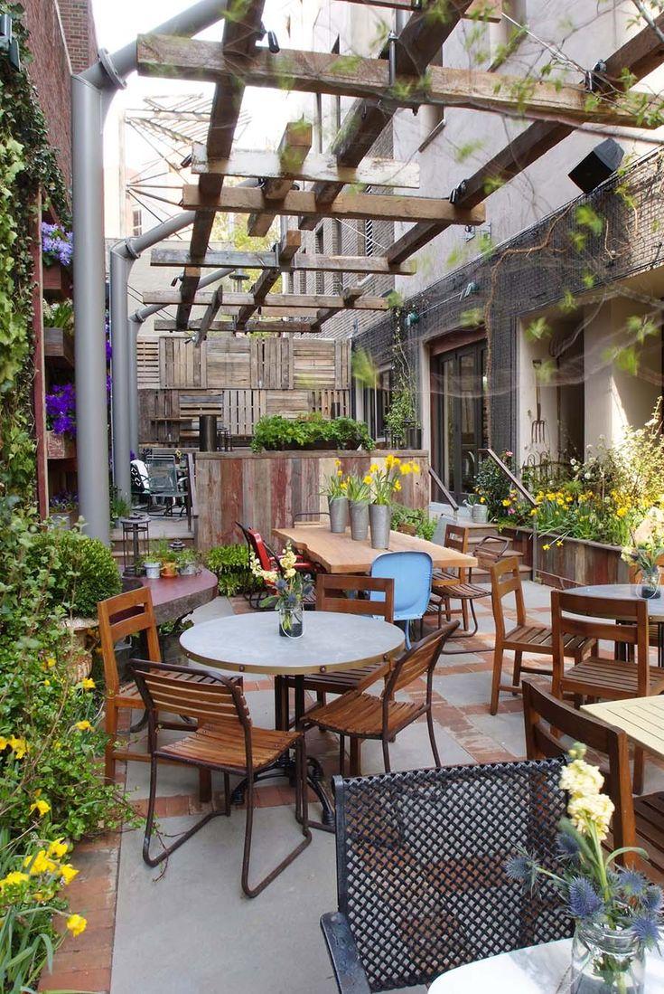 Talula's Garden Restaurant....So cute in Philadelphia