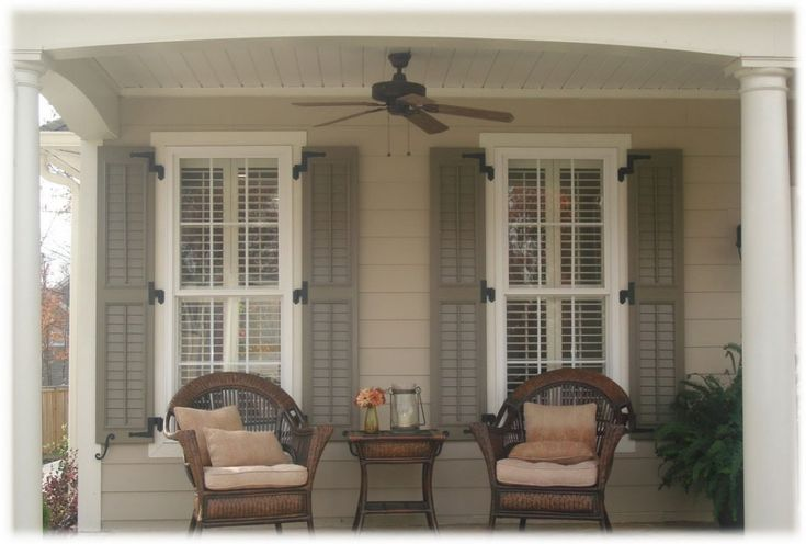 Home Interior, Tips On Painting Your Exterior Shutters