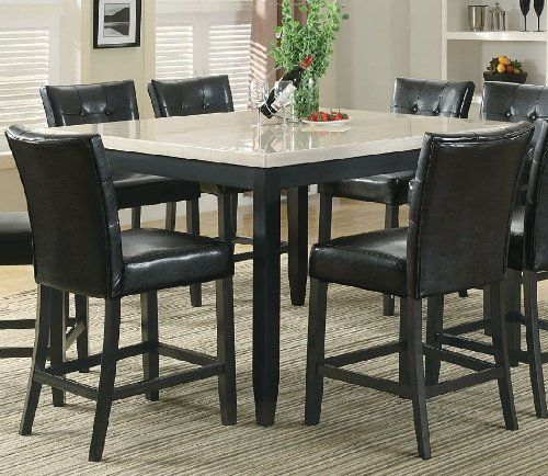 1000 Images About Counter Height Dining Sets On Pinterest Marble Top Home And Dining Sets