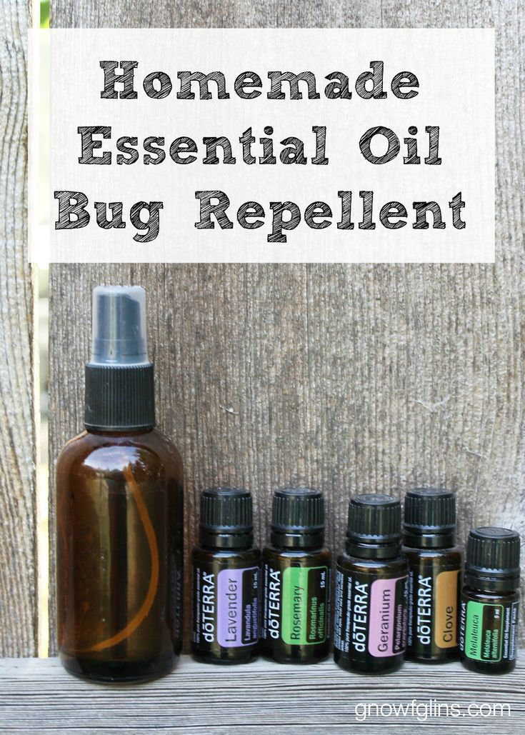 Homemade Bug Repellent With Essential Oils Recipe