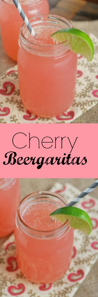 Cherry Beergaritas – these will become your official summer drink!
