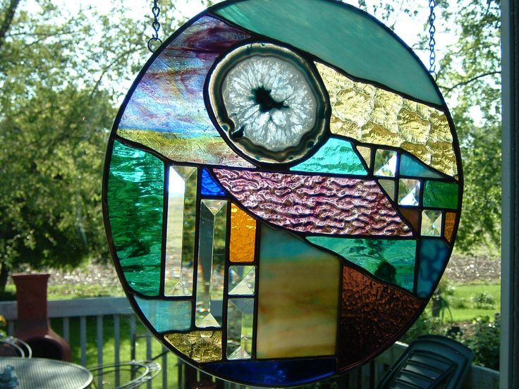 96 Best Images About Stained Glass Geodes On Pinterest