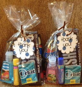Nurse Goody Bags!…a fun way to say thanks to the nurse that went the extra mile for you or a loved one.