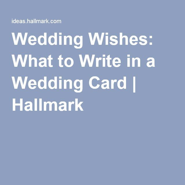 Wedding Wishes What To Write In A Wedding Card Read