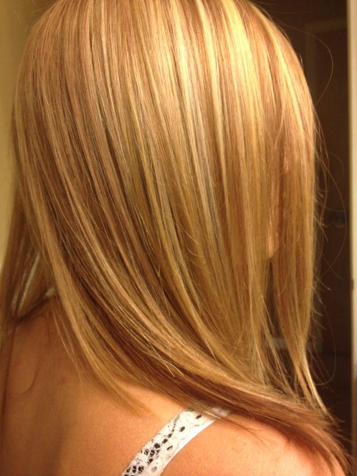 Strawberry Blonde Hair Foils Saras Hair Creations