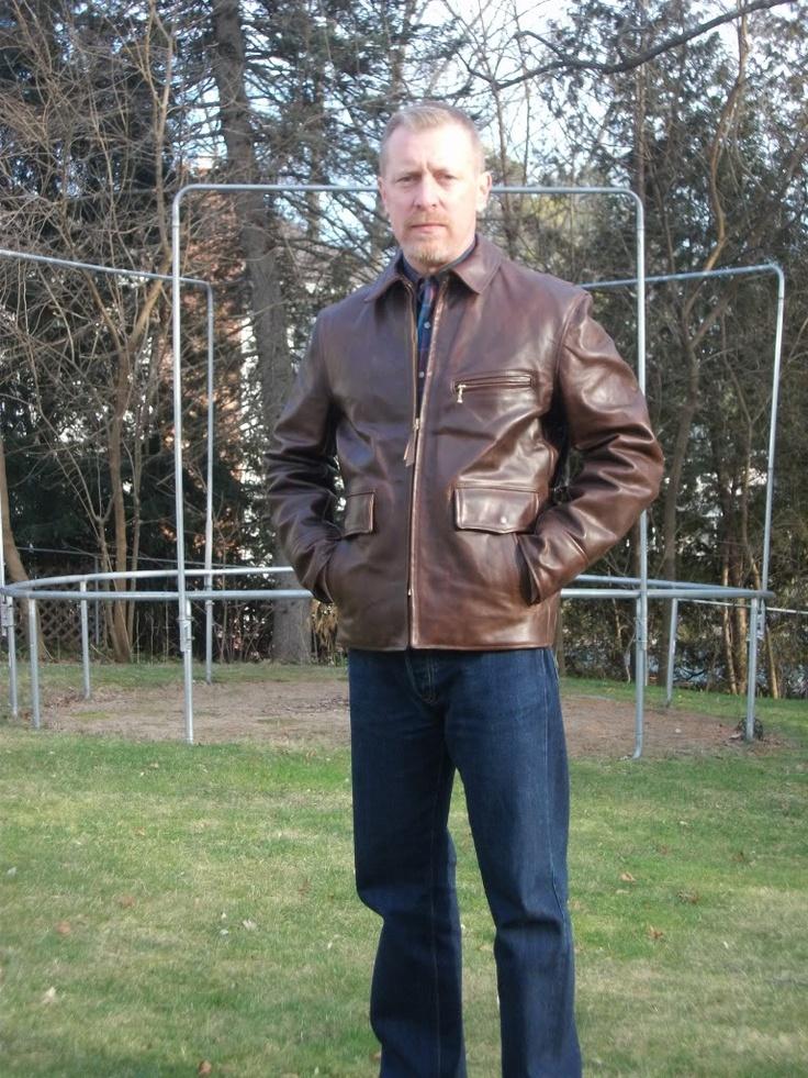 Teamster Aero jacket Sartorial Style Pinterest Jackets