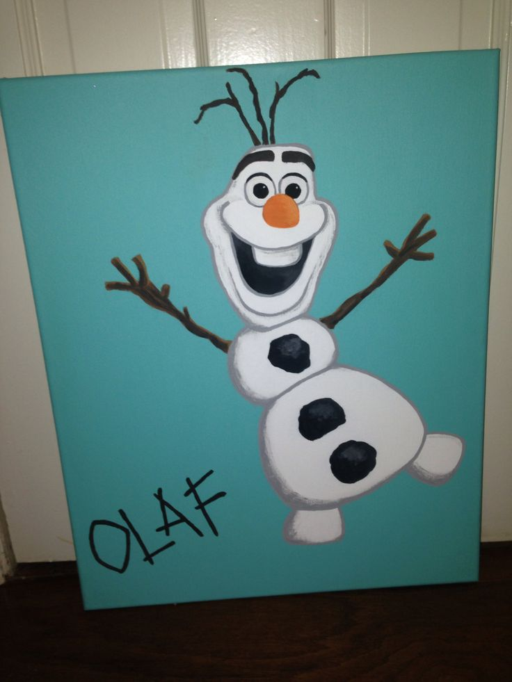 1000 Ideas About Frozen Canvas On Pinterest Canvases Canvas Signs And Hand Painted Canvas