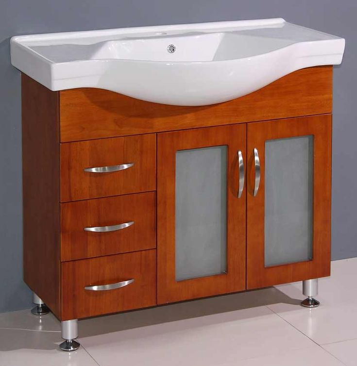 narrow bathroom sink cabinet - home design - mannahatta