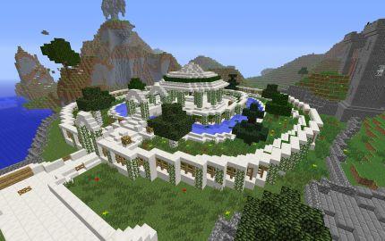 Garden Of Eden Minecraft Building Pinterest Gardens