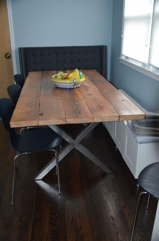 X Metal Table Legs SET DIY Build Your Own Modern By TRRTRY