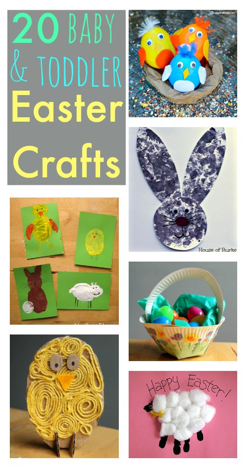 Super Cute Baby And Toddler Easter Crafts Simple