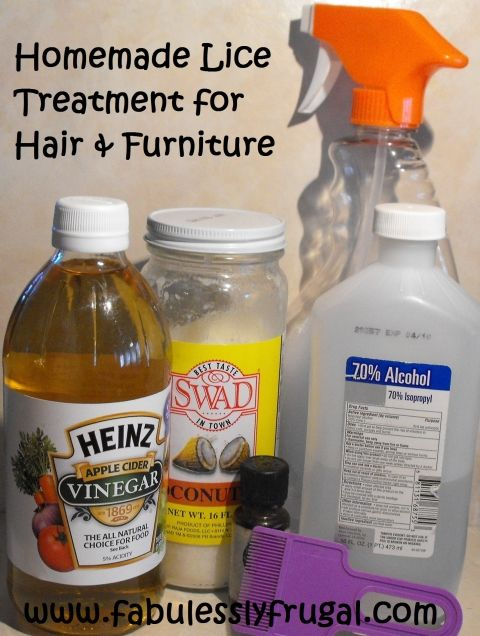 How To Get Rid Of Head Lice Naturally Recipe Natural