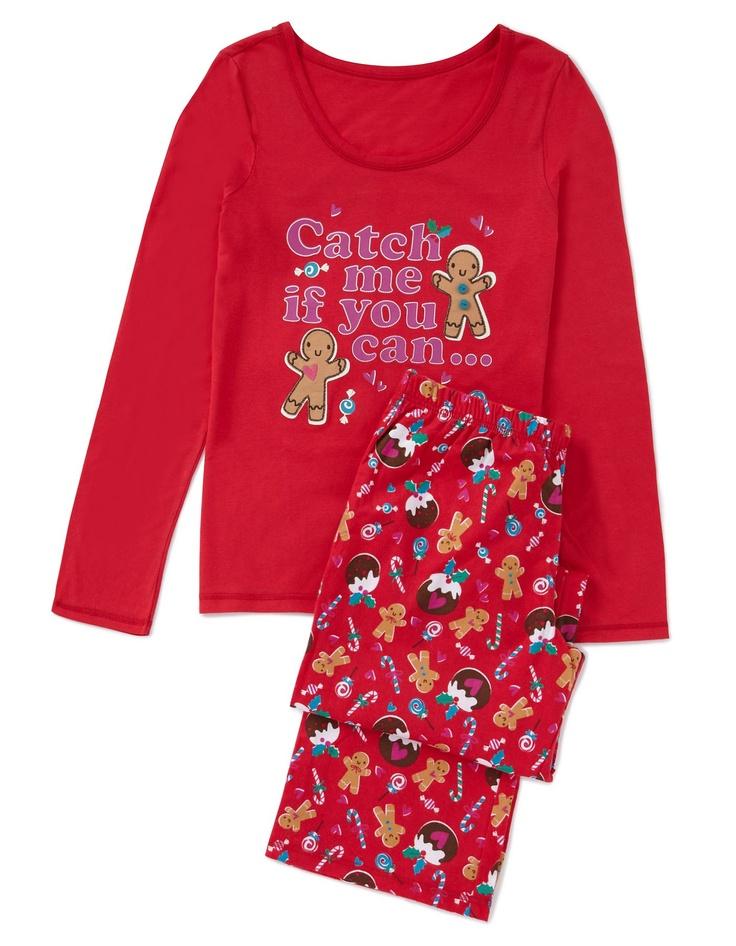 Gingerbread Pyjama Set Women at ASDA It's a