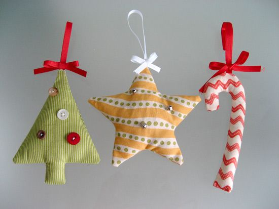17 Best Ideas About Fabric Christmas Decorations On