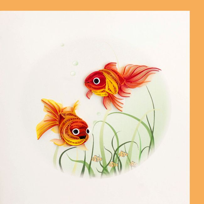 Quilled Goldfish Bjl Quilling Pinterest Quilling
