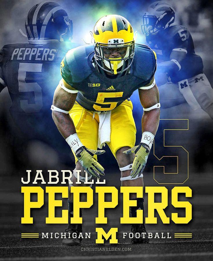 Jabrill Peppers Michigan Wolverines 5 christianelden