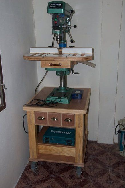 Drill Press Stand Plans Drill Press Stand By Mark