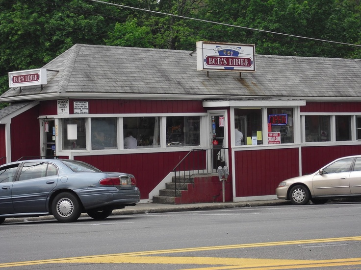 Bob's Diner, Brewster, NY. Nice bite to eat before hoping