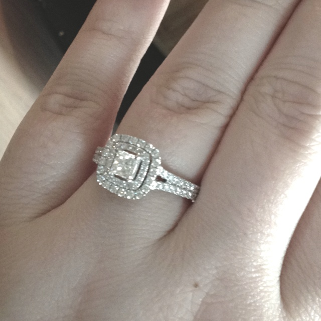 My Mister Got Me My Vera Wang Ring Now Thats Love