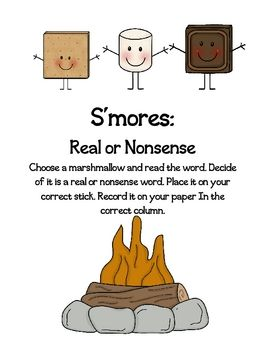This is a fun game to play in a small group or to put in your literacy centers! Kids practice reading words that begin with an s