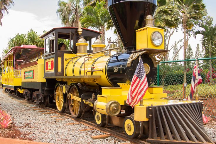 The Pineapple Express train was originally built in