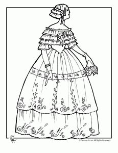 63 Best Images About Victorian Coloring On Pinterest