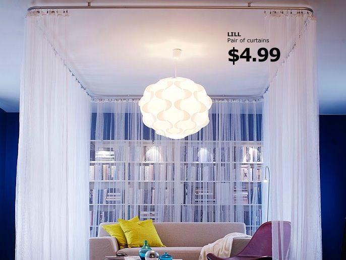 Create A Room Within A Room With Ceiling Tracks And