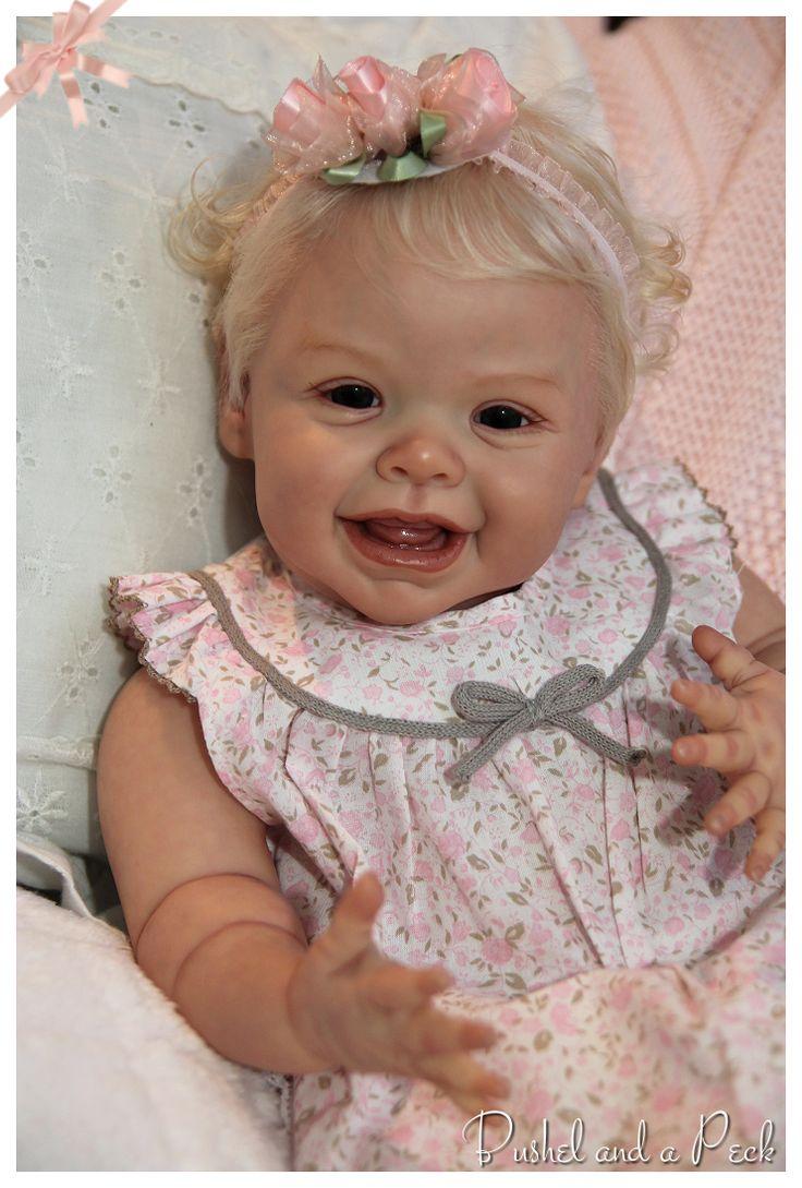 Reborn HARPER Andrea Arcello Baby Girl Doll, by Bushel and