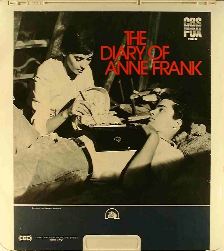 The Diary of Anne Frank movie poster Movies Pinterest