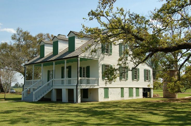 Home, Louisiana and White homes on Pinterest