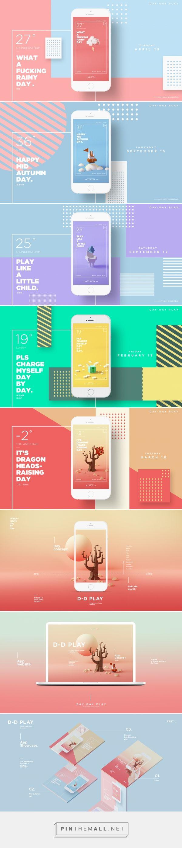 D-D Play – App Design | Abduzeedo Design Inspiration