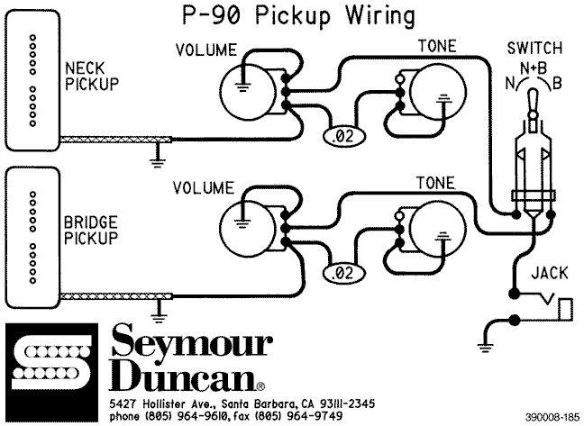 P 90 Schematics Gibsons.