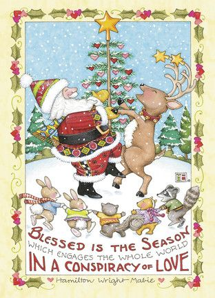 Blessed Is The Season Which Engages The Whole World In A