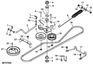 john deere rx75 belt routing diagram | John Deere Rx75 Belt Routing Diagram Fixya | John Deere