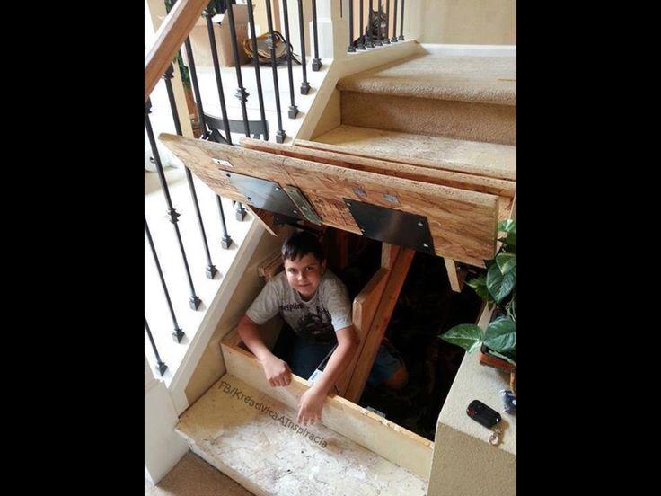 Under Stairs Storage Home DIY Ideas Pinterest