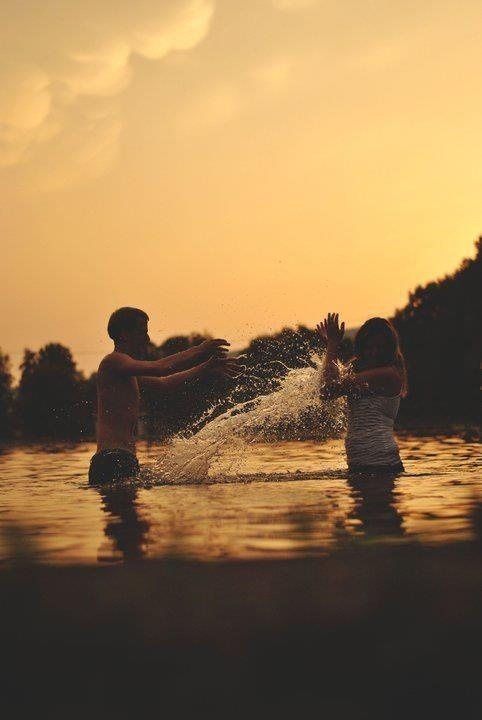 (Open RP) we were playing in the water on a summer day, in the water, like we do sometimes. But this time… It felt different.