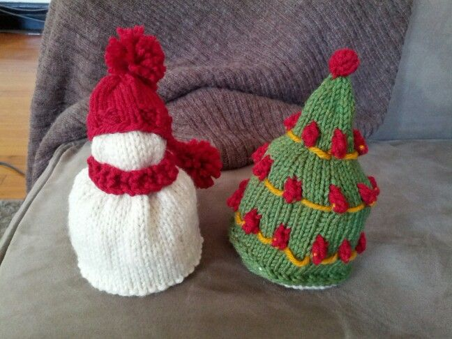 Knitting Needle Christmas Tree Made Out Of