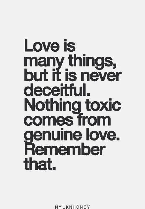 Love doesnt destroy us. A l