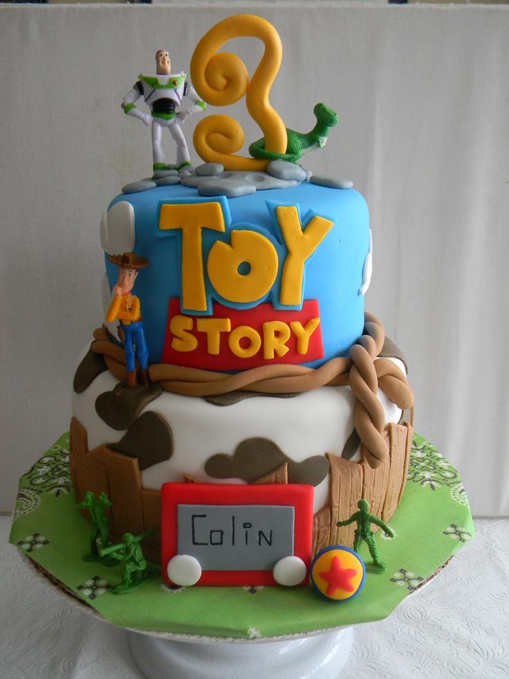 Toy Story themed birthday cake Toy Story Birthday Party