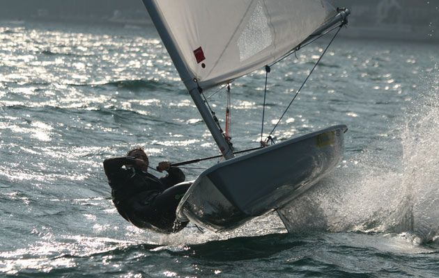 Seeing Is Believing Foiling A Laser