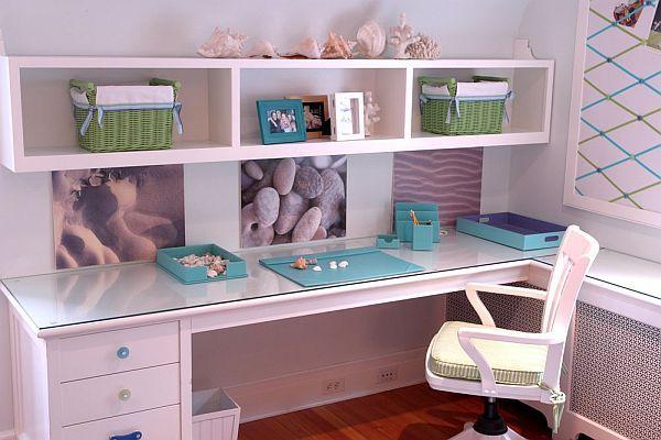 55 Room Design Ideas For Teenage Girls Cool Desk Ideas