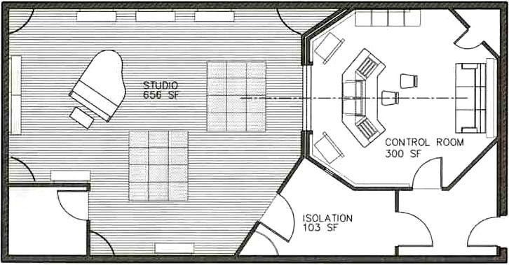 Stunning Recording Studio Floor Plans 726 X 379 · 60 KB