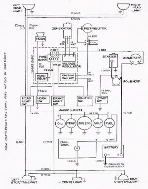 Basic Ford Hot Rod Wiring Diagram | Hot Rod Tech | Pinterest | Shops, Hot rods and Simple