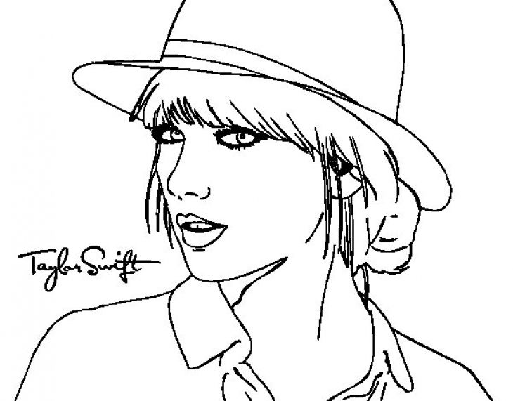 celebrity coloring pages taylor swift taylor swift 1989 coloring