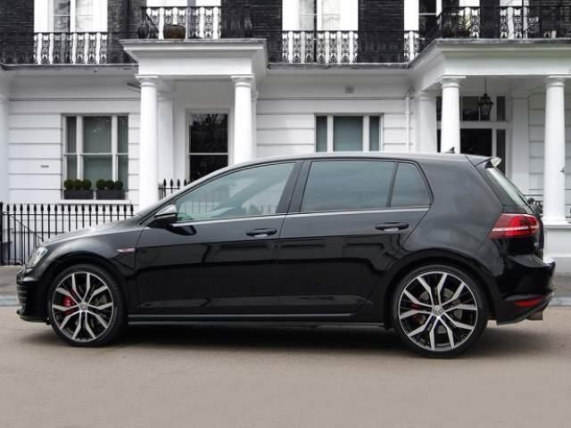 Volkswagen Golf Gti Mk7 Solid Black G Pinterest