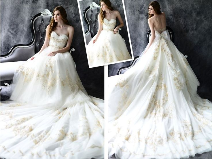 17 Best Ideas About Bow Wedding Dresses On Pinterest