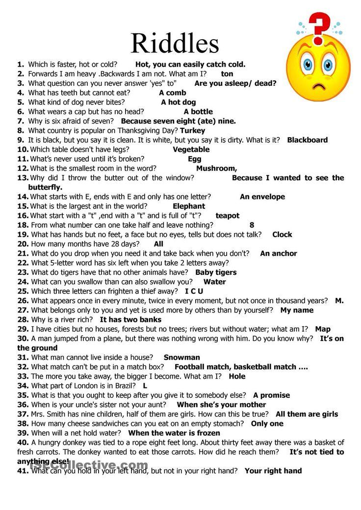 Weekly riddlesApril 19 Weekly Challenge!! Pinterest